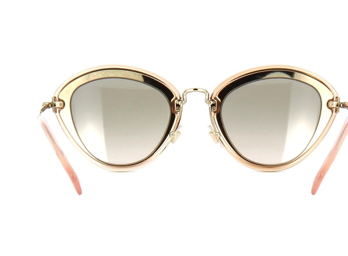7e21a3c0813bb Óculos De Sol Miu Miu Mu51rs Ufd3h2 - R  1.150