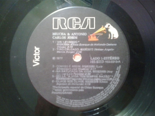 miucha e antonio carlos jobim rca - 1977 participação de ch