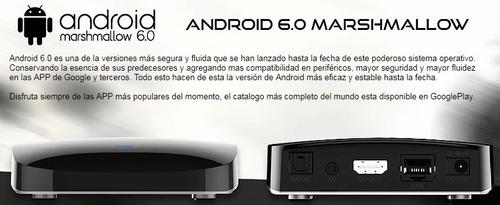 miuibox iblack sucesor miuibox itv android tv 6.0 megaplay