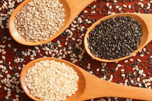 mix 3 kg semillas sesamo blanco + negro + integral