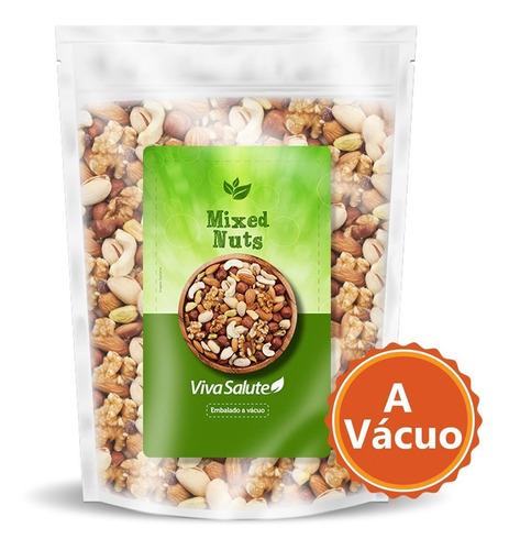 mix de castanhas (mixed nuts) premium viva salute - 1kg