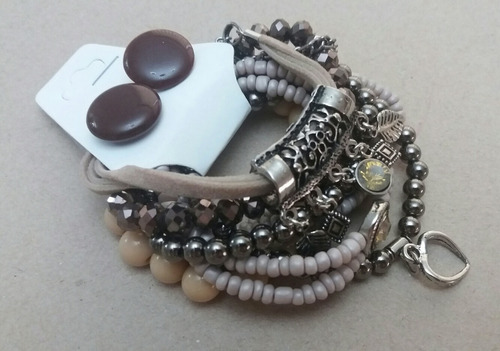 mix de pulseiras bijus revenda atacado 10 conjuntos