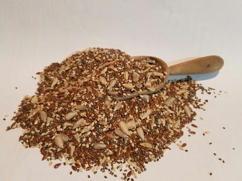 mix de semillas  (chia, lino,sesamo , girasol x 10 kg
