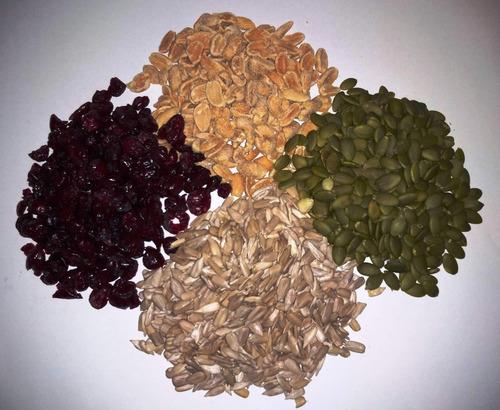 mix silvestre (maní - cranberry - maravilla - zapallo)