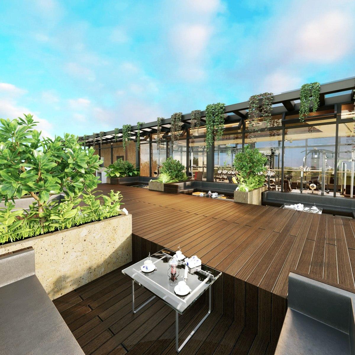 mixcoac, exclusivo departamento garden house