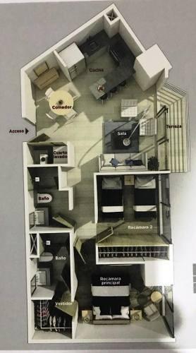 mixcoac.- renta departamento nuevo. amenidades. 2 rec, 2 aut