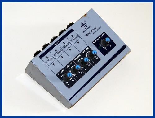 mixer as-mm4 incluye adaptador