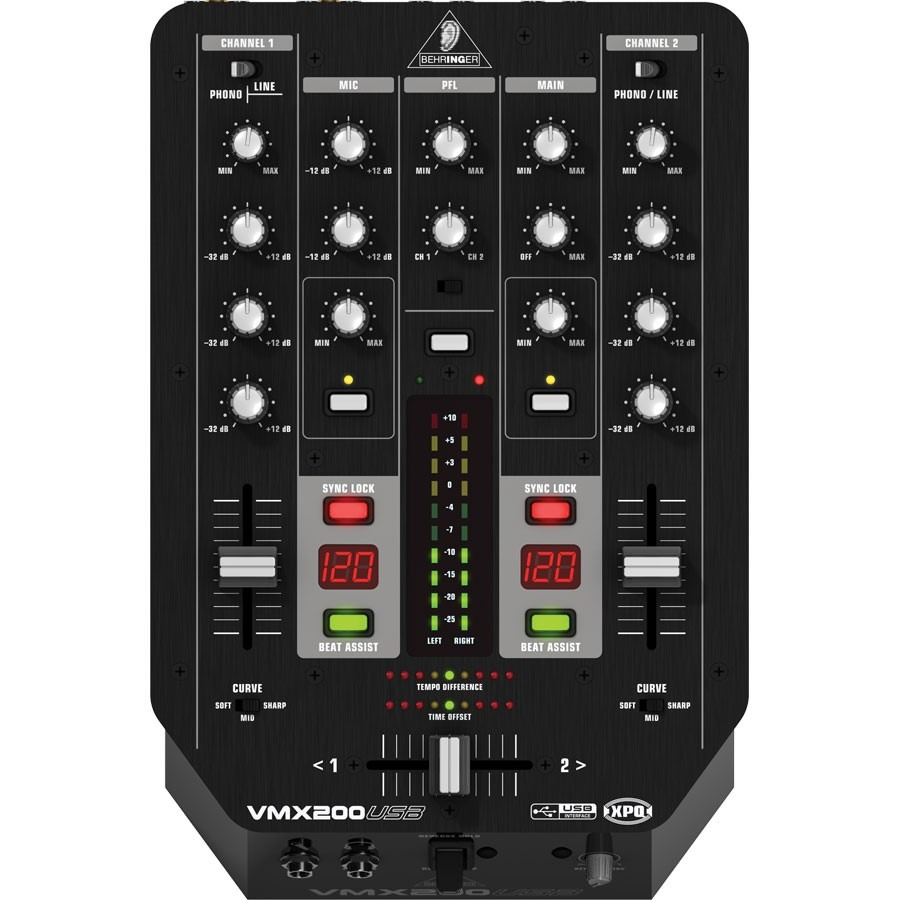 BEHRINGER VMX 200 USB DRIVERS DOWNLOAD FREE