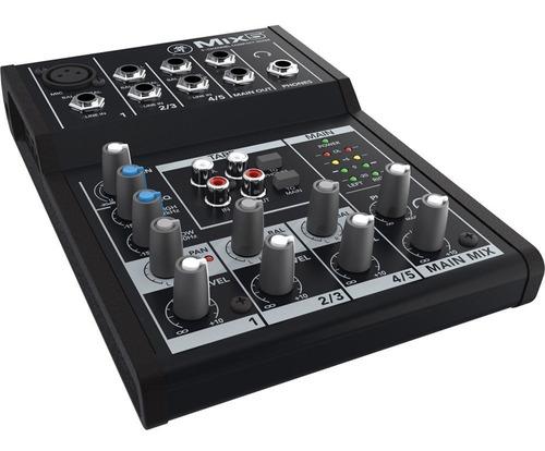 mixer compacto mackie mix5 5 ch phantom / open-toys 41 ei