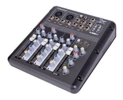 mixer consola 4 canales parquer efectos mp3 phantom cuota