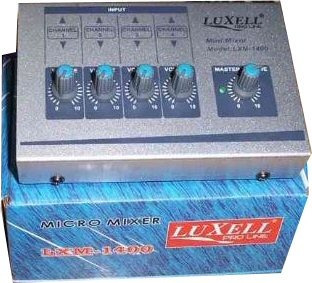 mixer consola canales