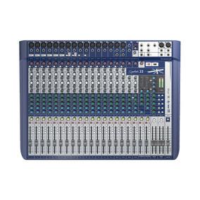 Mixer Consola De Sonido Soundcraft Signature 22 22ch 101db