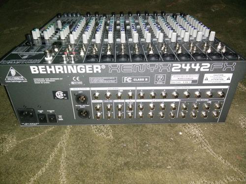 mixer de 16 canales con efectos
