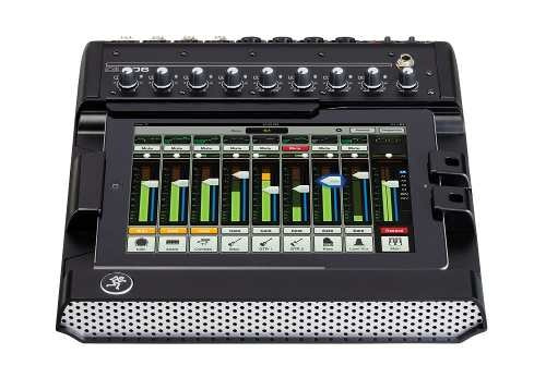 mixer digital para ipad 8 canales mackie dl806