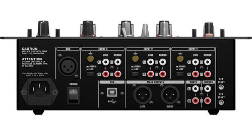 mixer dj 3 canais nox 303 - behringer