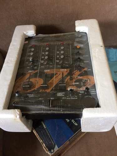 mixer gemini 676 pro zerado!dj sampler platinum colecionador