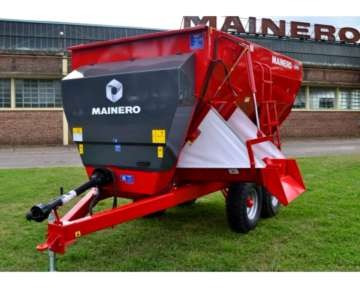 mixer horizontal mainero 2921 y 2921 plus de 10 m3