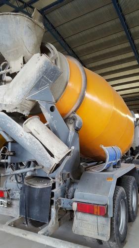 mixer hormigonero scania 8x4 11 m3