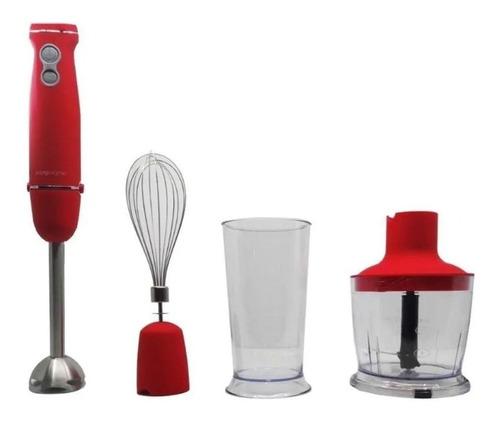 mixer kanji 1000w rojo - aj hogar