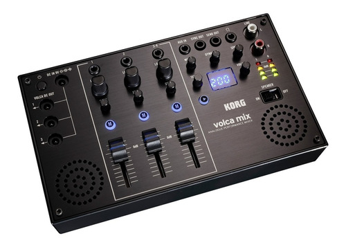mixer korg volca mix - analogica p/ serie fuente 3c - oddity