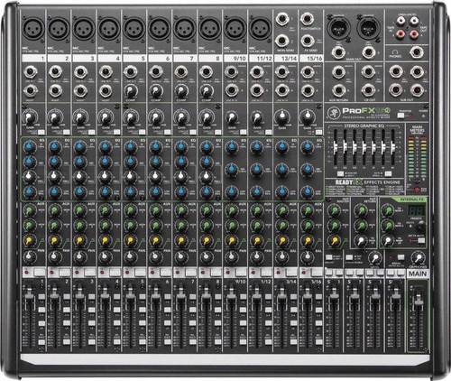 mixer mackie pro fx16 v2 cuotas