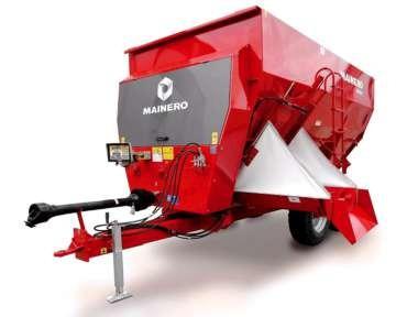 mixer mainero 2932 único horizontal que desmenuza rollo