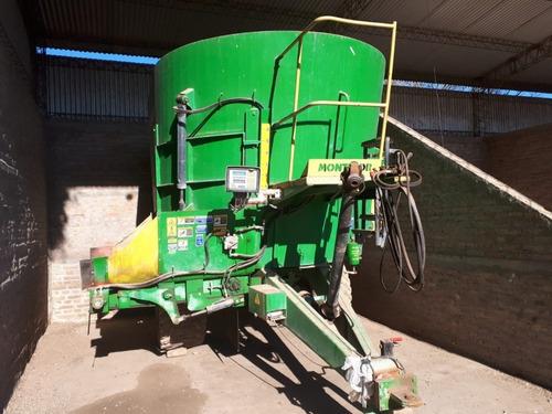 mixer montecor  vertical de 14 mts  con balanza ms68