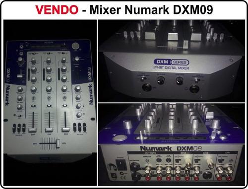 mixer numark dxm-09 con 12 efectos digital. poco uso!