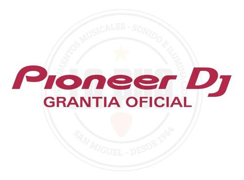 mixer para dj pioneer djm-250mk2 de 2 canales - recordbox