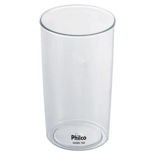 mixer philco 700w inox 2 velocidades e copo - 110v