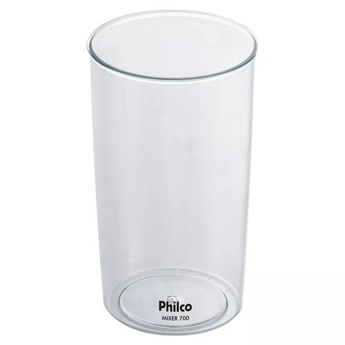 mixer philco 700w inox 2 velocidades e copo 110v