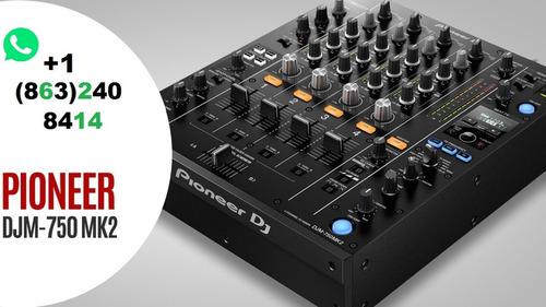 mixer pioneer djm 750 mk2 mixer nuevo 4 canales en stock
