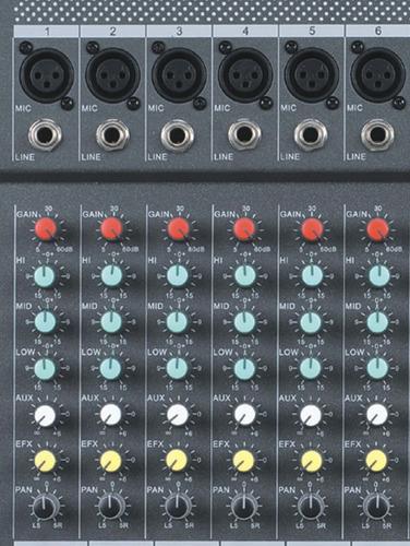 mixer profesional consola