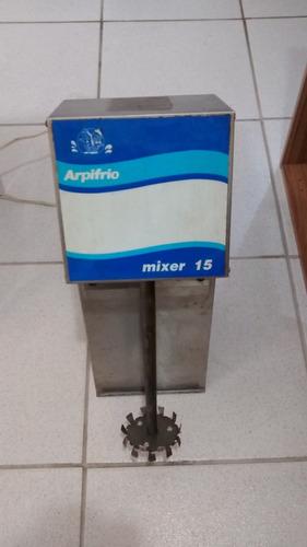 mixer sorverte arpifrio 15 leia descrição