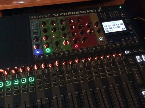 mixer soundcraft expression 2