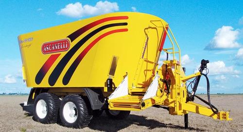 mixer vertical ascanelli rs 1600