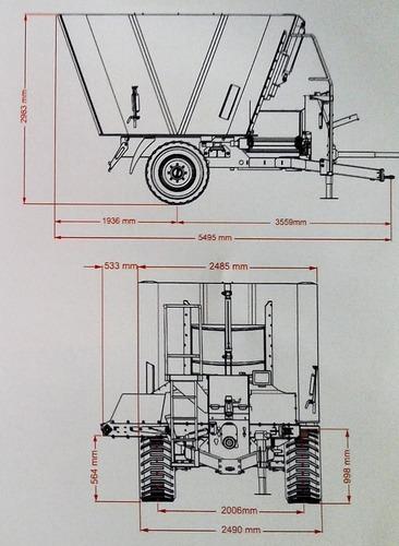 mixer vertical simple sin fin ascanelli 15 m3