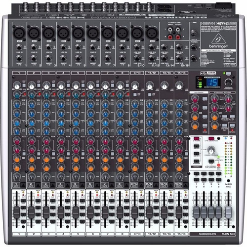 mixer x2442usb bheringer 24ch pasiva