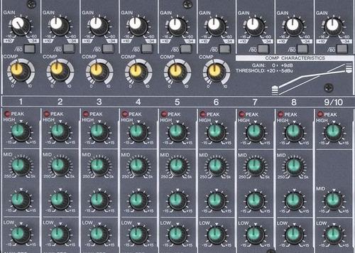 mixer yamaha mg166c c/compresores oferta x diseño anterior!