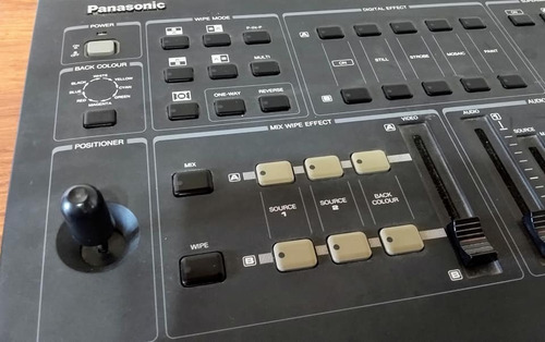 mixera panasonic audio vídeo av5 digital