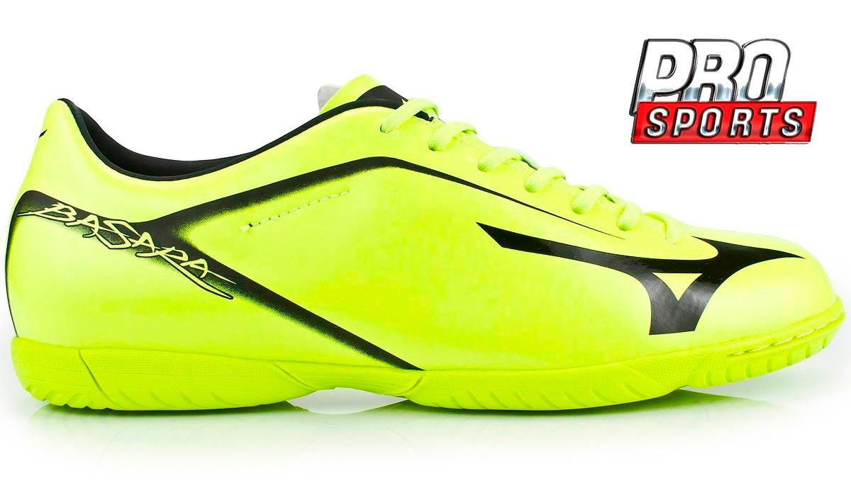 ... 6b1295c8c68 Mizuno Chuteira Basara 003 Futsal Neon Preto - Bq - R  199 15b5d12c32c9f