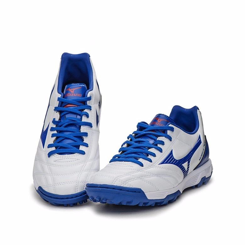 online store 50607 dbc28 Mizuno Morelia Neo Suela Turf Blanco/azul Talla 27 Cm