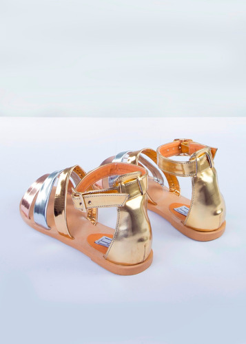 mja zapatos sandalias colores metalizados