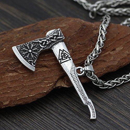 mjolnir hombres vikingo odin mamen nórdico vikingo trinida