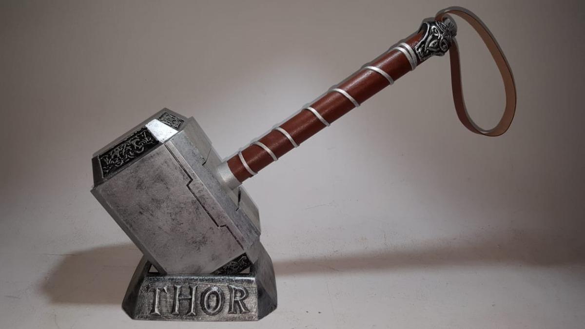 Mjolnir Martelo Thor 11 Tamanho Real