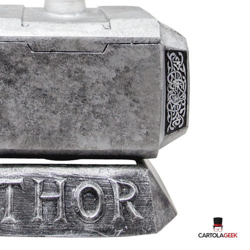 mjolnir martelo thor 1.1 tamanho real
