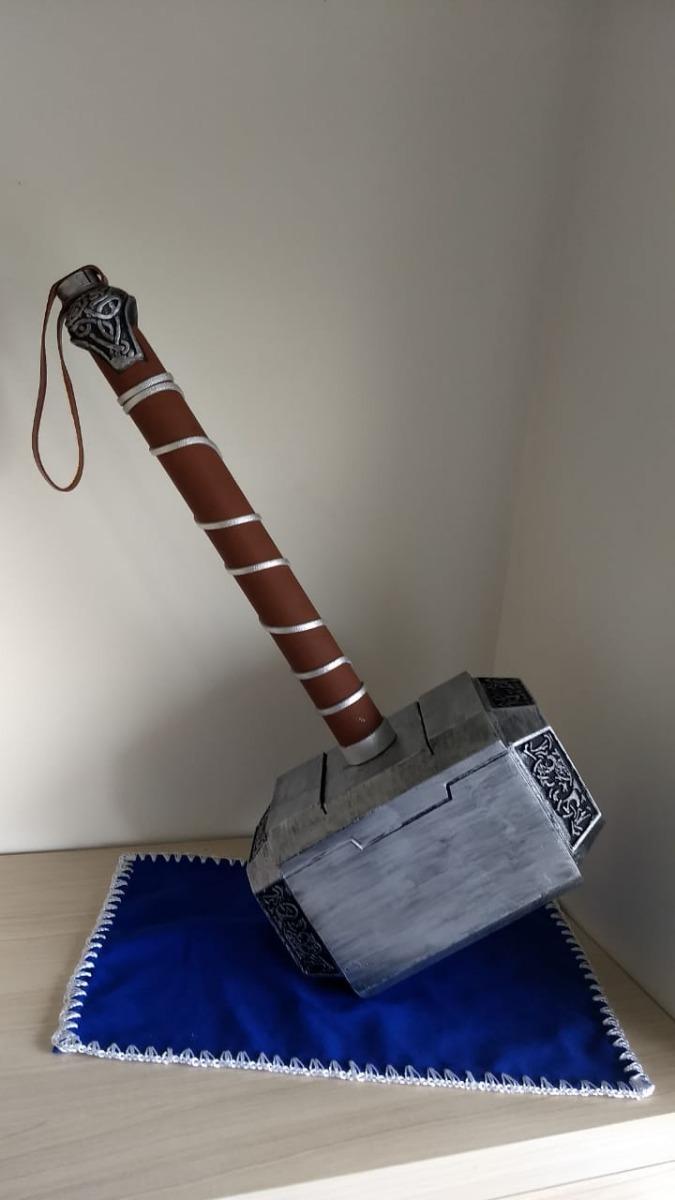 Mjolnir Martelo Thor 11 Tamanho Real Promoção
