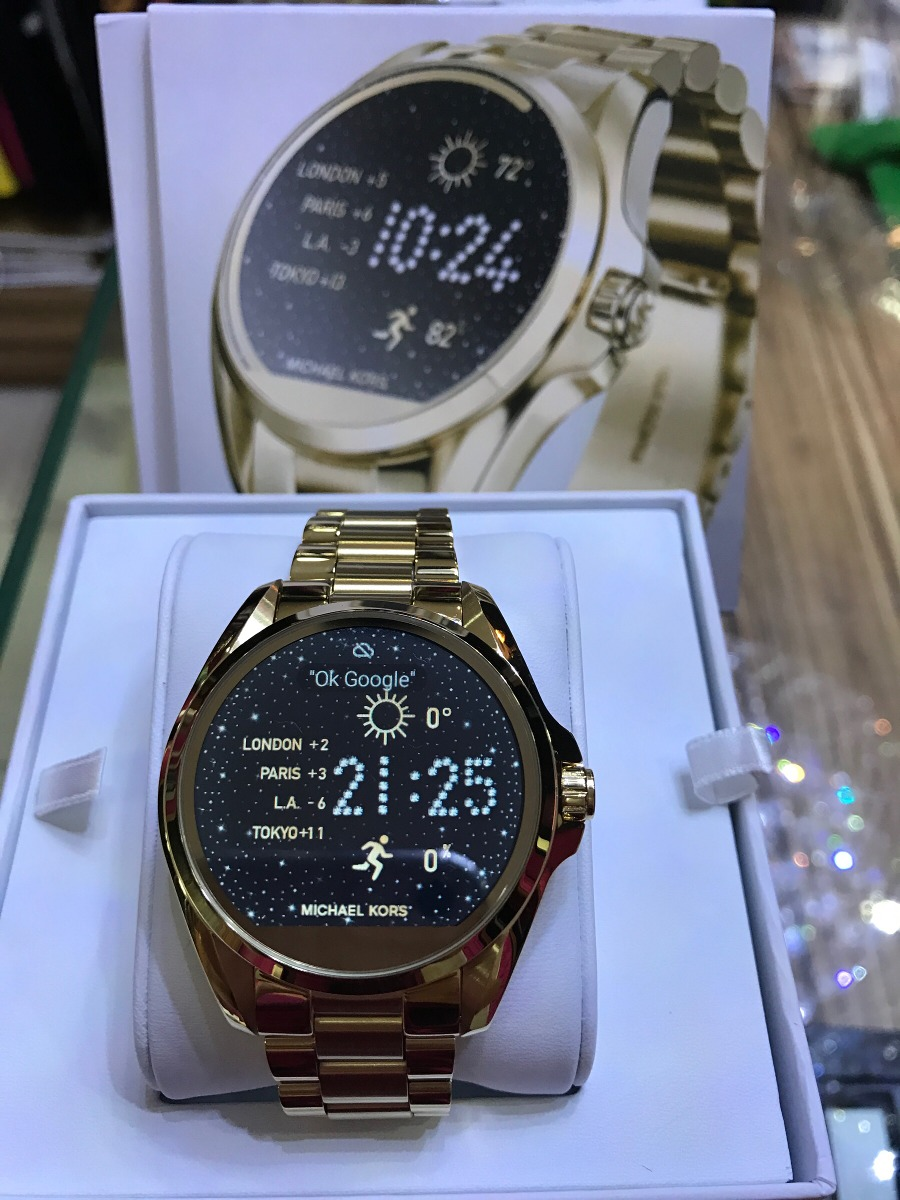 ae7fd5215de05 Mk Access Mkt 5001 Smartwatch Original Com Garantia - R  1.900,00 em ...