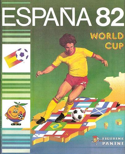 mk-álbum de figurinhas copa do mundo 1982 panini (dg) +