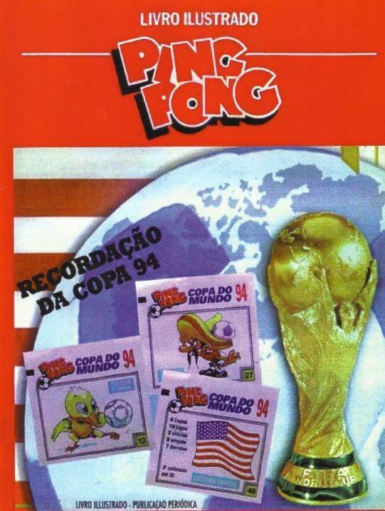 Mk-álbum De Figurinhas Copa Do Mundo 1994 Ping Pong (dg) + - R  15 ... da87e20bfc2b8